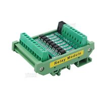 8 Channel Relay Module Optocoupler Isolation Module High/Low Level PNP/ NPN Out