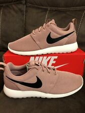 16a944443f8 Nike Womens Roshe One Size 10.5 New Particle Pink Black Sail Rare 844994 601