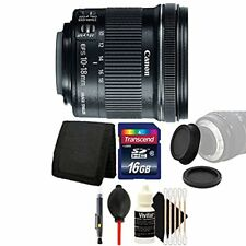 Canon EF-S 10-18mm f/4.5-5.6 IS STM Lens for Canon with Accessory Bundle