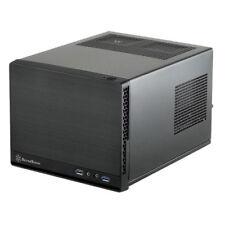 Silverstone Sugo SG13B-Q Black mini-ITX Case (Std ATX PSU)