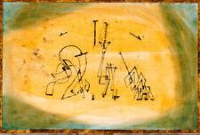 Paul Klee Art Abstract