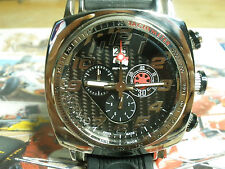 Ritmo Mundo IndyCar 221-09 Black Carbon Fiber Dial Quartz Chronograph Swiss