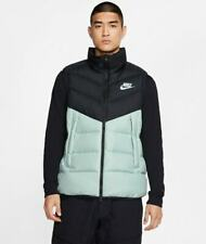 ⭐️ Nike Men's NSW SC DOWN FILL VEST Black / Mint MULTIPLE SIZES CQ0252-015 FRESH