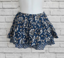 Abercrombie & Fitch Floral Layered Multipattern Mini Skirt Size 8
