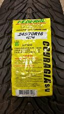 1 FEDERAL COURAGIA S/U P245/70R16 107H  USED OUT OF DATE