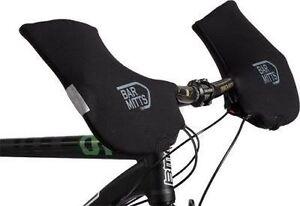 BAR MITTS MTB Commuter Hybrid Bike Winter Neoprene Glove Mittens Handlebar Cover
