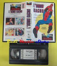 film VHS L'UOMO RAGNO VOLUME 1 il trionfo del folletto verde Delitto(F60*)no dvd