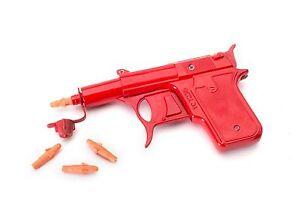Retro Metal Die Cast Potato Spud Gun Water Pistol Toy Gun Dressing Costume