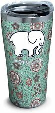 Tervis 1329344 Ivory Ella - Blossom Pattern Stainless Steel Insulated Tumbler
