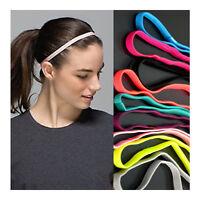 Men Women Yoga Hair Bands Sports Headband Anti-Slip Elastic Rubber