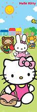 Hello Kitty Tür Poster Picknick Mädchen Wand Kunst Dekor 53cmx158cm 1048/11 DP0311