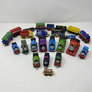 Lot of toy trains, Thomas The Train Diecast Metal plastic wooden magnetic