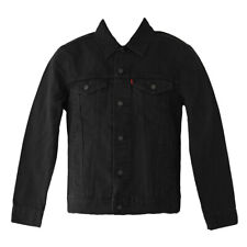 Levi's Herren Berkman Trucker Jacket schwarz X-small