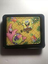 Spongebob Squarepants Wallet Patrick Pineapple Under the Sea Yellow Buckle Down