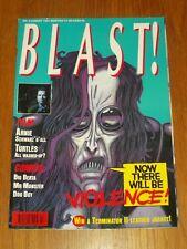 BLAST #3 AUGUST 1991 DOG BOY BIG BERTA CONCRETE MR MONSTER BRITISH MAGAZINE^