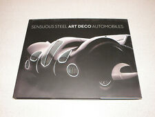 SENSUOUS STEEL ART DECO AUTOMOBILES KEN GROSS THOMAS MELLINS BOOK