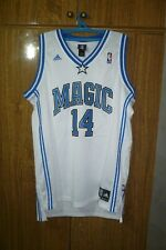 Orlando Magic Adidas NBA Authentic Jersey #14 Jameer Nelson Basketball Size L