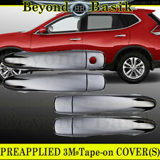 Fits 2014 2015 2016 2017 NISSAN ROGUE Chrome Door Handle COVERS no smart key