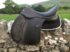 """17"""" Wintec 500 VSD Saddle Adjustable From N To XW Fibre Flocked In Brown"""