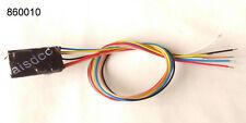 Decodeur 6 poles NEM 651 6 fils, DCC moteur+2 AUX Decoder digital LAISDCC 860010