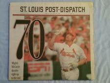 Mark McGwire Lot 1998 - 61 62 70 500 St. Louis Post-Dispatch and Washington Post