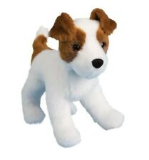 "Douglas Feisty JACK RUSSELL 8"" Plush Stuffed Puppy Dog Cuddle Toy NEW"