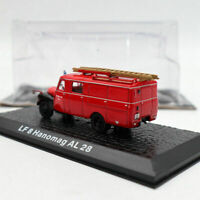 Atlas 1/72  LF 8 Hanomag AL 28 Fire Engine Diecast Models Collection Gift Red