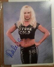 Debra McMichaels WWE WWF Diva Autographed Auto 8x10 photo Signed Stone Cold 3:16