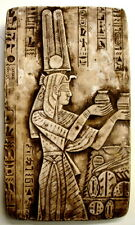 """Ancient Egyptian Wall Sculpture 16"""" Isis Offering Ceremony Art NEW"""