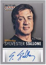 "2015 AMERICANA AUTO: SYLVESTER STALLONE -AUTOGRAPH ""ROCKY/RAMBO/CREED"" SUPERSTAR"