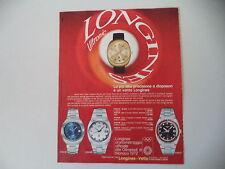 advertising Pubblicità 1971 LONGINES ULTRONIC
