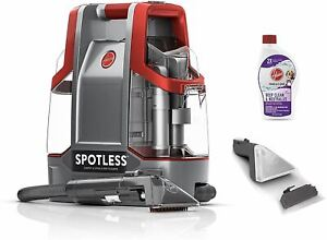Hoover Spotless Portable Carpet & Upholstery Spot Cleaner, FH11300PC, Red