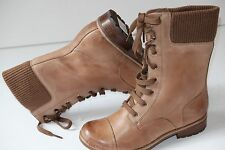 Clarks Norley Forest Ladies Caramel Leather ankle boots 4.5/37.5 D £80