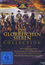 DVD-BOX NEU/OVP - Die glorreichen Sieben - Collection - 4 Filme