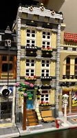 LEGO CUSTOM MODULAR BUILDING TOWN HOUSE fits with 10218 10246 10251 MOC 593