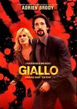 Giallo (BRAND NEW THRILLER  DVD) Emmanuelle Seigner, Adrien Brody