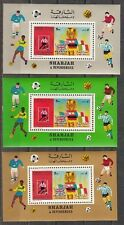 Sharjah, Mi cat. 653, Bl A65 A. World Cup Soccer issue as s/sheets.