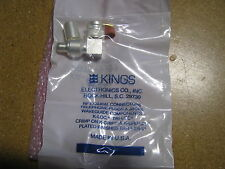 KINGS RF CONNECTOR 50 OHLMS KA-59-307 NSN; 5935-01-116-7449