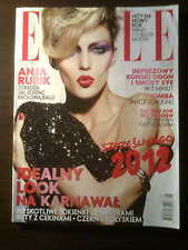 ELLE 1/2012 front ANJA RUBIK in. Rooney Mara, Julia Roberts