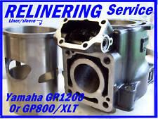 yamaha jet ski GP1200R cylinder & Crankshaft service Gp800r xlt wave runner