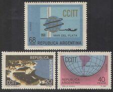 Argentina 1968 Telephone/Radio/Communications/Telecomms/Maps 3v set (n39620)