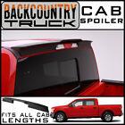 BackCountryTruck Matte Black Truck Cab Spoiler fits 2015-2020 Ford F-150