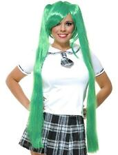 Vocaloid Hatsune Miku Wig Japanese Anime Fancy Dress Halloween Costume Accessory