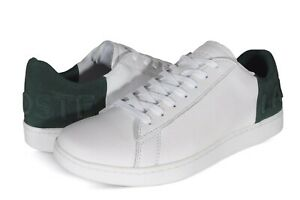 Lacoste Carnaby EVO 419 2 SMA Leather Mens Sneakers White & Green 7-38SMA00441R5