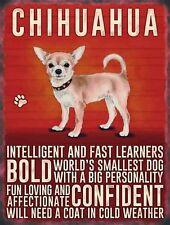 Chihuahua Traits fridge magnet   (og)