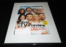Parks & Recreation Framed ORIGINAL 2015 Entertainment Weekly Cover Amy Poehler