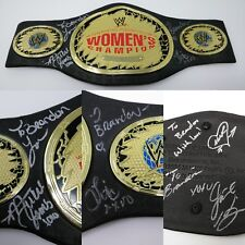 WWE Womens Champion Replica Play Belt SIGNED Mickie James LITA Melina JACKIE