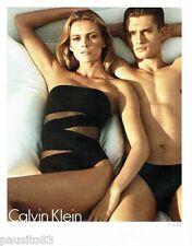 PUBLICITE ADVERTISING 116  2011  Calvin klein   collection maillot de bain