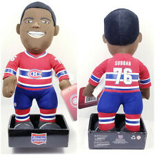 "PK Subban 76 Montreal Canadiens NHL Bleacher Creatures 11"" Plush Doll Toy"
