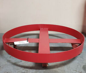 Drum Dolly for 55 Gallon Drum - Steel Wheels 1,000 Lb. Capacity